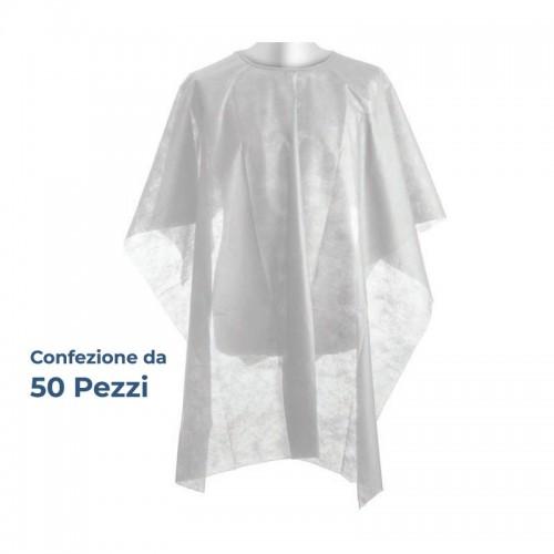 Mantella Taglio Tnt Monouso Bianco 50pz