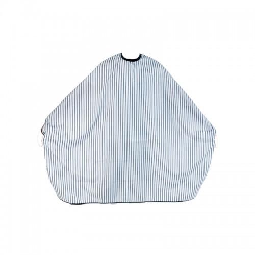 Barber Line - Cape Black & White Stripes Mantella da Taglio