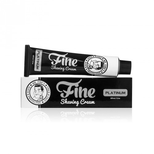 Fine Accoutrements - Shaving Cream Platinum