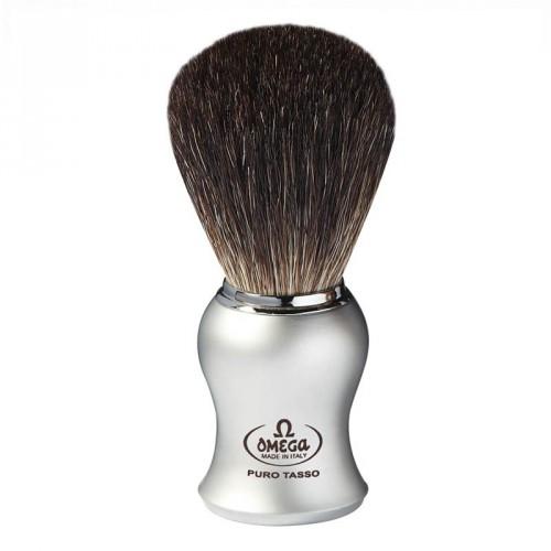 Omega - Pennello da Barba in Puro Tasso Silver 6229