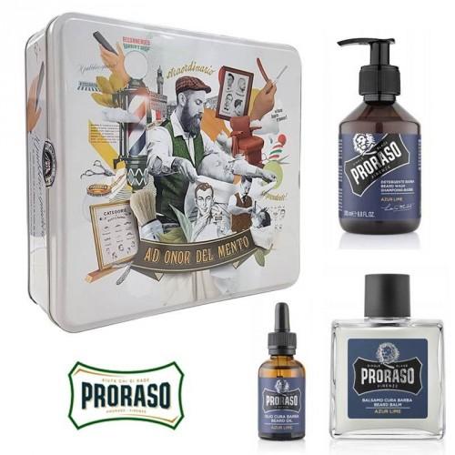 proraso-azur-set-kit-beard-scatola-alluminio-gift-youbarber