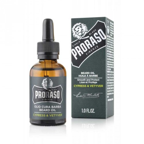 Proraso - Olio da Barba 30ML - Cypress and Vetyver