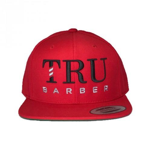 trubarber-cappello-barber-barbiere-red-snapback