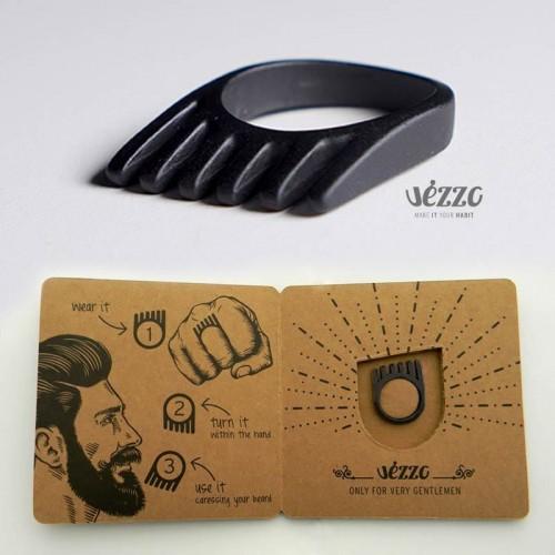 vezzo-ring-anello-barba-barbiere-gioiello-nero