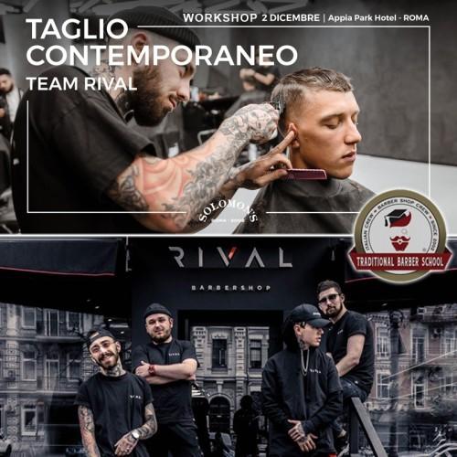 Solomon's Beard & RIVAL - Corso Taglio Uomo Contemporaneo ROMA 02/12/19