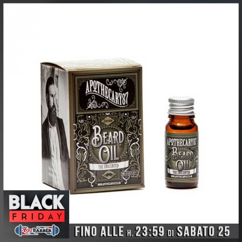 Apothecary87 - Beard Oil The Unscented 10ml