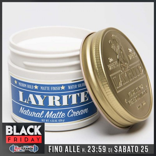 Layrite - Natural Matte Cream