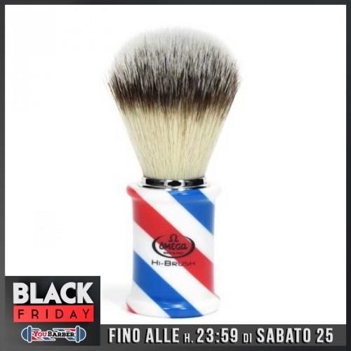 Omega Barber Pole - Pennello da Barba